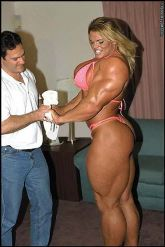 anna nicole smith body building